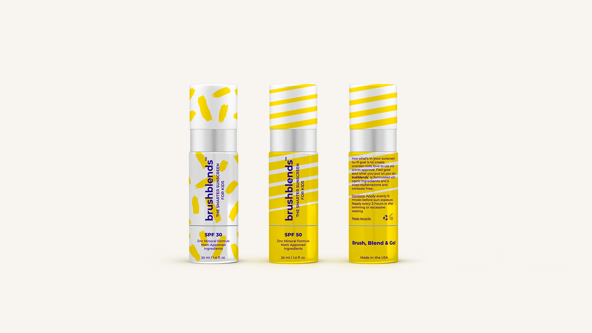 Identity and packaging for a line of children sunscreens by FUERA